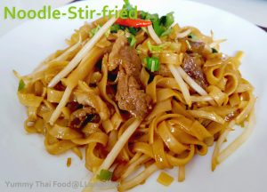 Noodle-Stir-fried