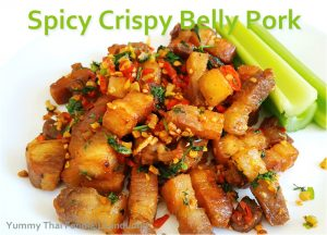 Spicy Crispy Belly Pork